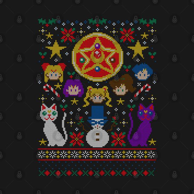 Merry Senshi Sweater