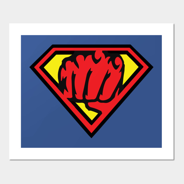 Superman Vs One Punch Man Symbol