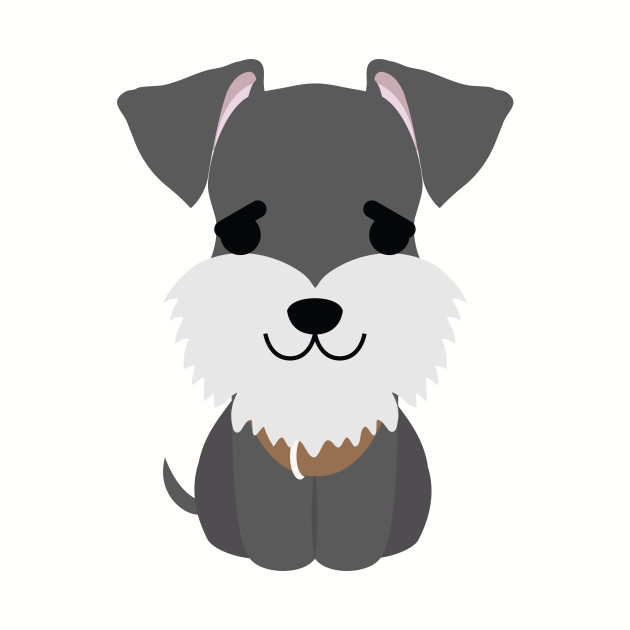 Schnauzer Dog Emoji Puppy Eye Pretty Please