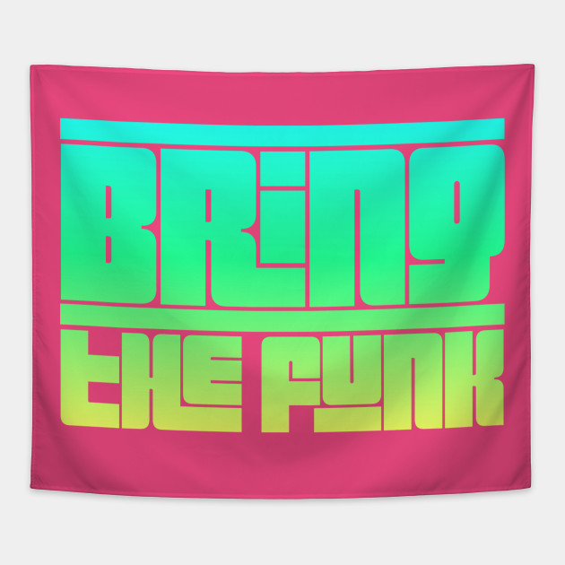 Bring the Funk 70s Groovy Typography Design