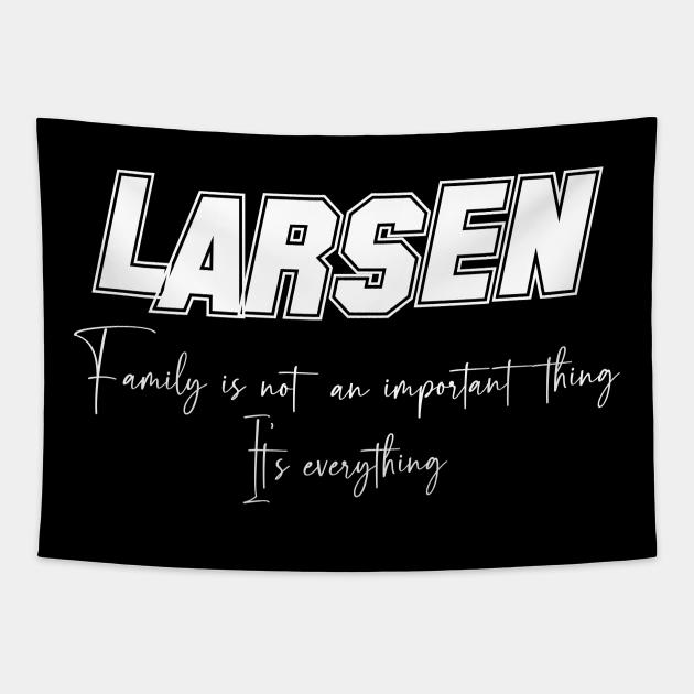 Larsen Second Name, Larsen Family Name, Larsen Middle Name