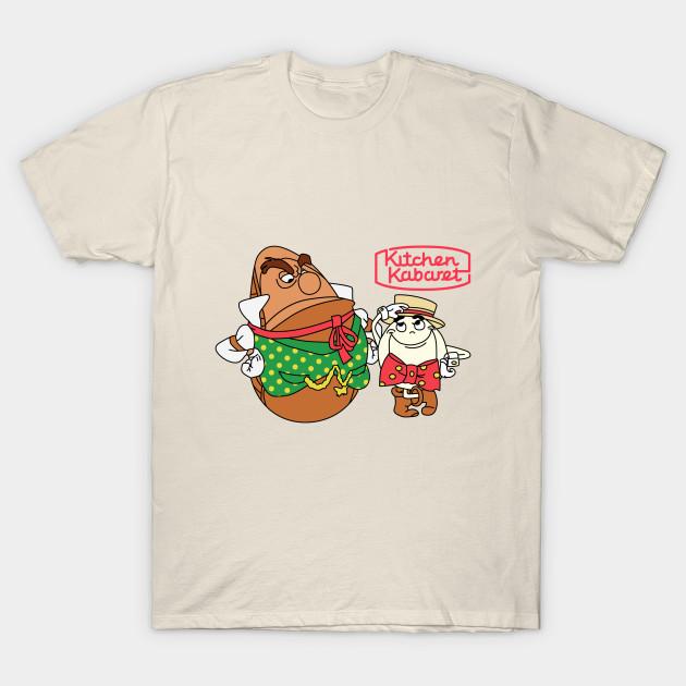 Kitchen Kabaret - Hamm & Eggz - Disney - T-Shirt   TeePublic