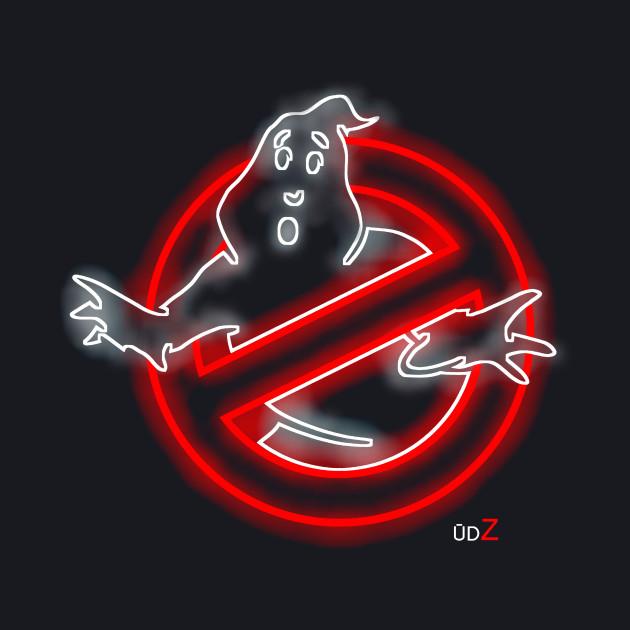 Ghostbusters logo glow
