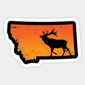 Elk Clothing Stickers   TeePublic