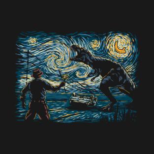 Jurassic Night t-shirts