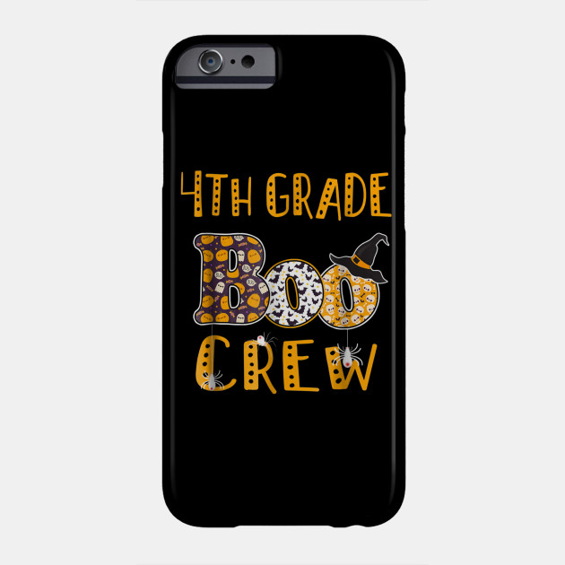 Halloween Costume 303.4th Grade Boo Crew Teacher T Shirt Halloween Costume