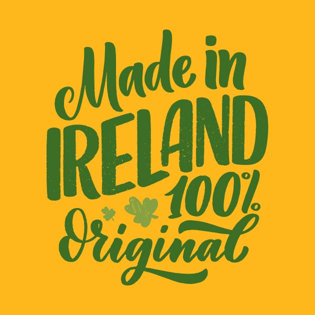 Made In Ireland 100% Original - Calligraphy
