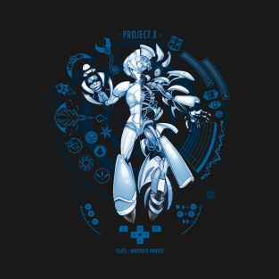 Project X - Blue Print Edition t-shirts