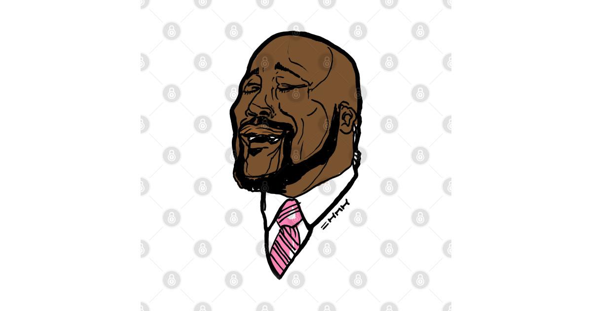 Shaq Singing Meme Tee - Shaq Singing - T-Shirt   TeePublic