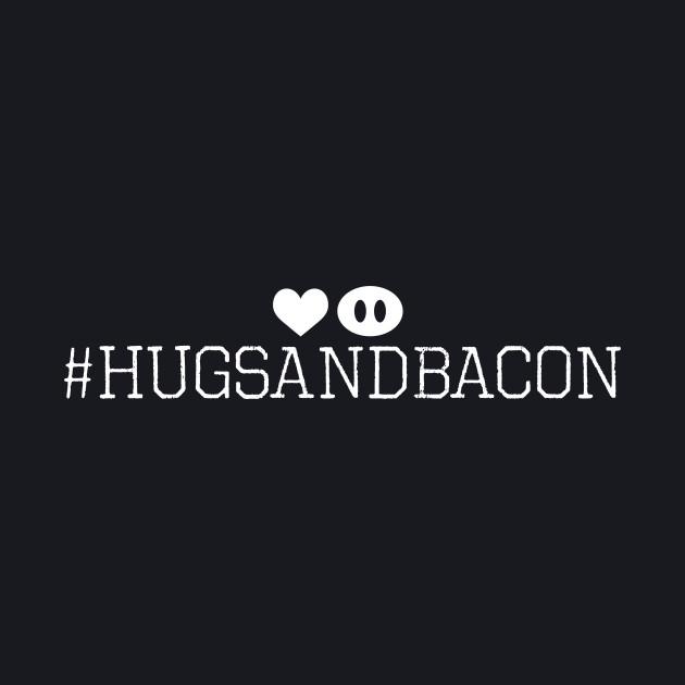 #hugsandbacon - Pig Nose - dark shirts