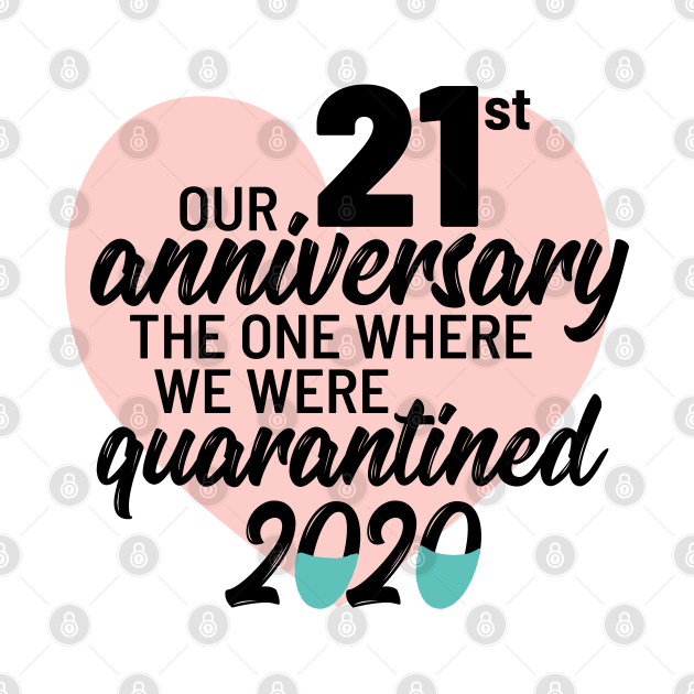 Our 21st Anniversary The One Where We Were Quarantined 2020