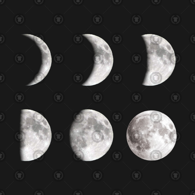 6 Moon Phases