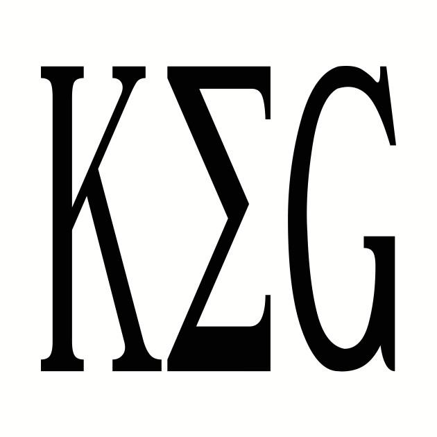 Keg Greek Letters