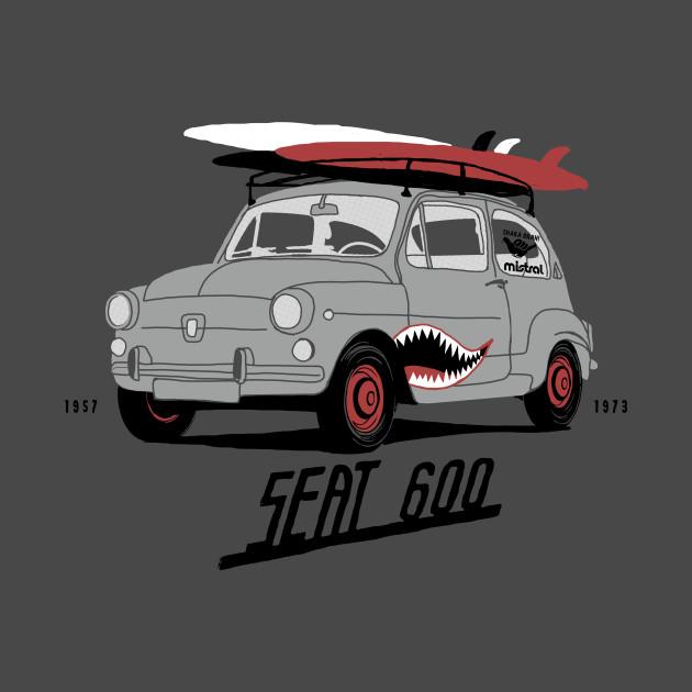 Seat 600 surf car