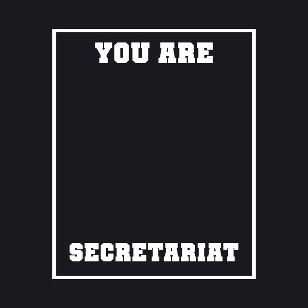 You are Secretariat