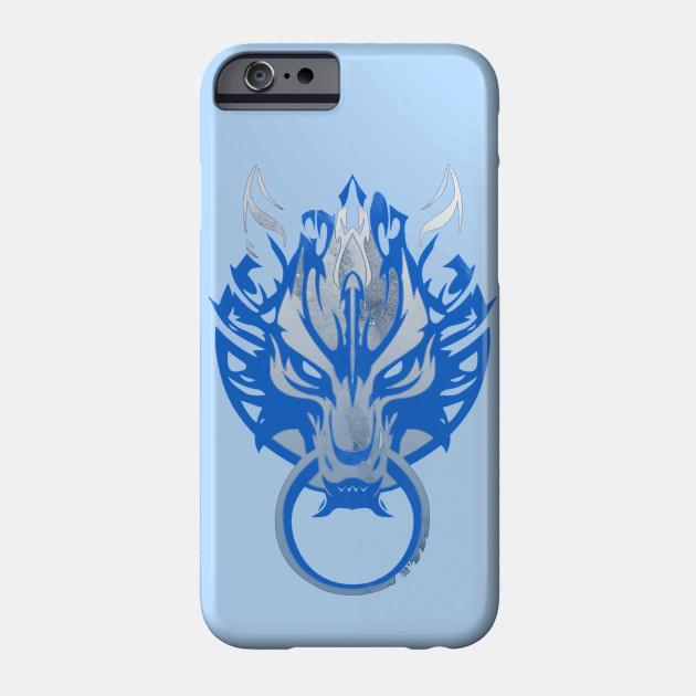 Cloud Strife s Wolf Emblem iphone case