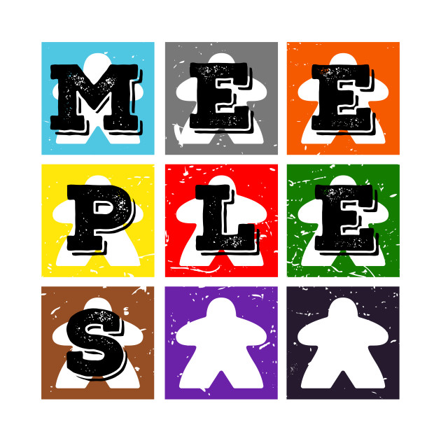 Meeples Distress