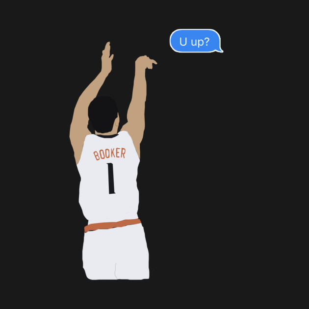 The Shoot your Shot Tee: D-Booker edition