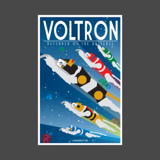 Voltron Flying Lions t-shirts