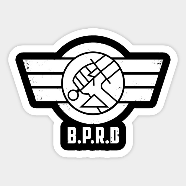 Bprd Emblem White