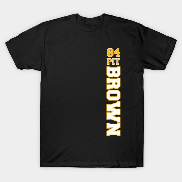 c626e530 Antonio Brown Pittsburgh Steelers - Antonio Brown - T-Shirt   TeePublic
