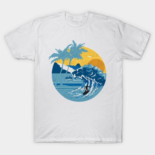 fe292509e9d Godzilla Surf Club - Surf - T-Shirt | TeePublic