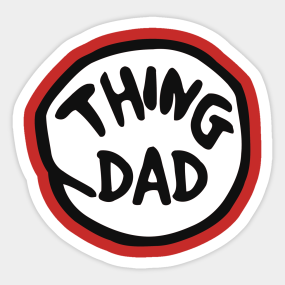 photograph relating to Thing 1 and Thing 2 Printable Clip Art named Issue 1 Stickers TeePublic