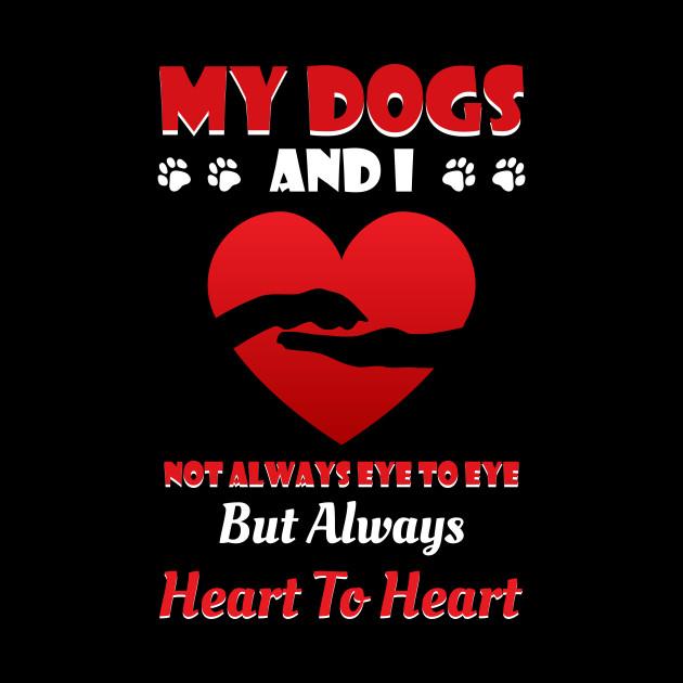 Not Always Eye To Eye Shirt For Dog Lover