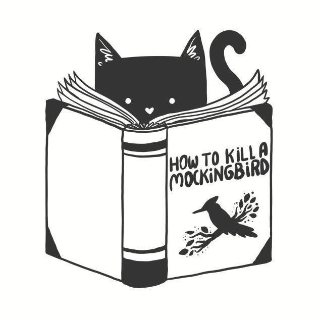 how to kill a mockingbird - cute cat