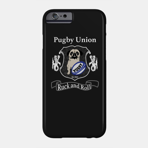 9bc0a1a586762 Pugby Union Funny Rugby Pug Design for Dog Lovers - Pug Gift Ideas ...