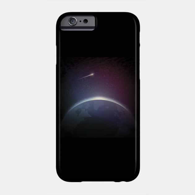 earth in space Phone Case