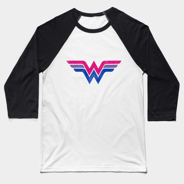 Wonder Woman Bi Flag- Distressed