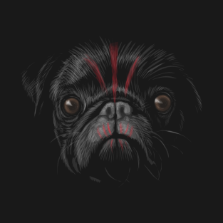 Planet of the Pugs (no text) t-shirts