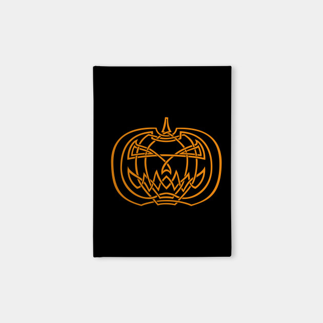 Jack O Lantern Notebook