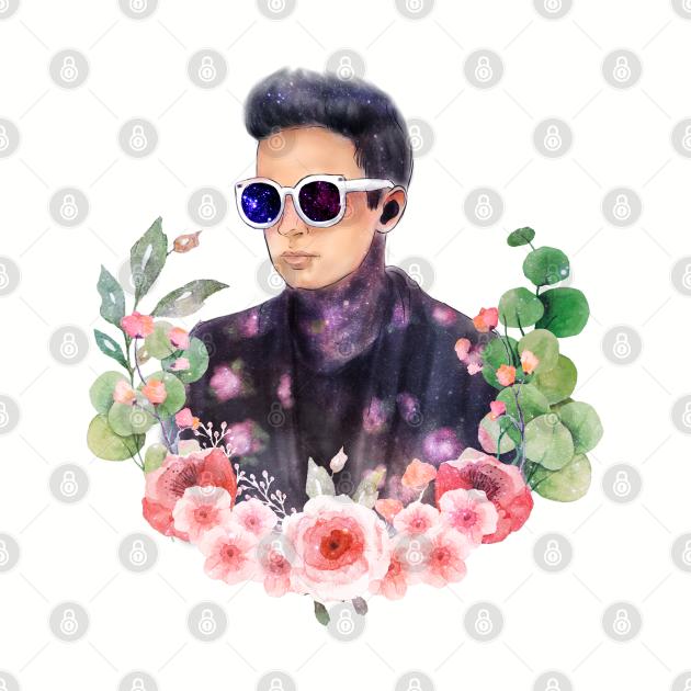 Fanart Tyjo with Flowers