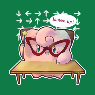 Listen up! - Clefairy t-shirts