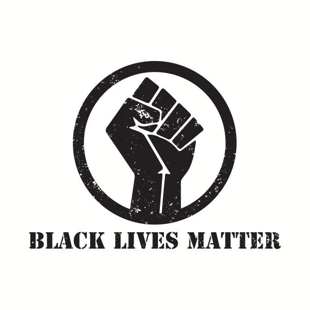 BLACK LIVES MATTER FIST T SHIRT