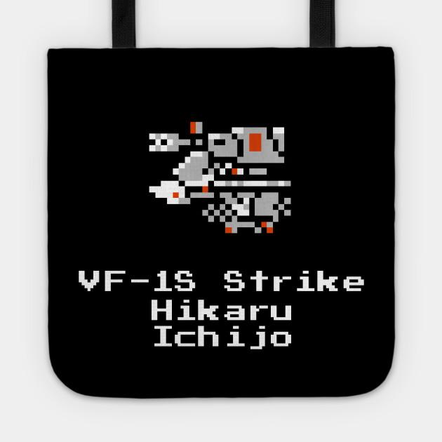 8bit DYRL VF-1S Strike Hikaru fighter