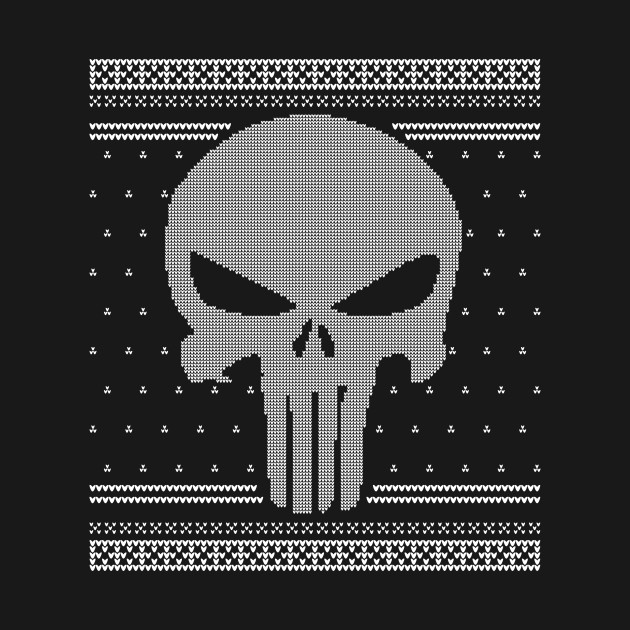 The Punisher - Christmas knit