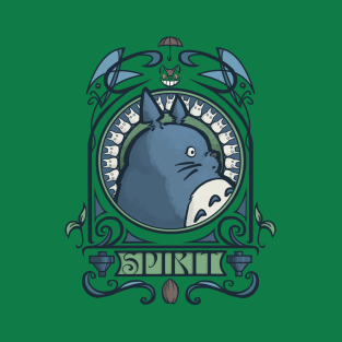 Forest Spirit Nouveau t-shirts