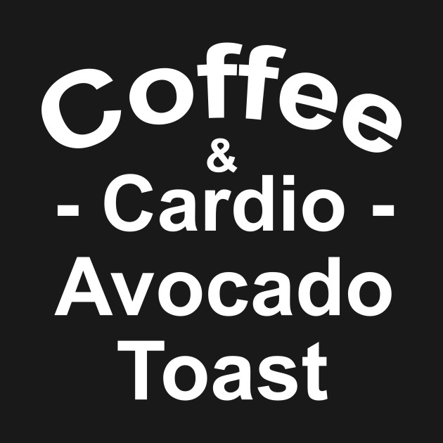 08d61b2da8a0f Coffee Cardio Funny Womens Workout Shirt With Sayings - Coffee And ...
