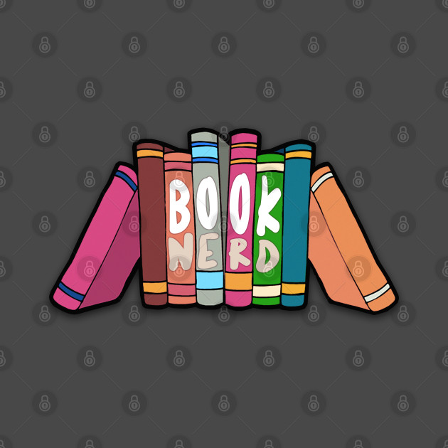 Book Nerd - Typographic Statement Design