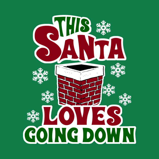 This Santa Loves Going Down