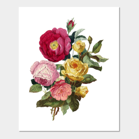 Bouquet De Fleur Posters And Art Prints Teepublic Au