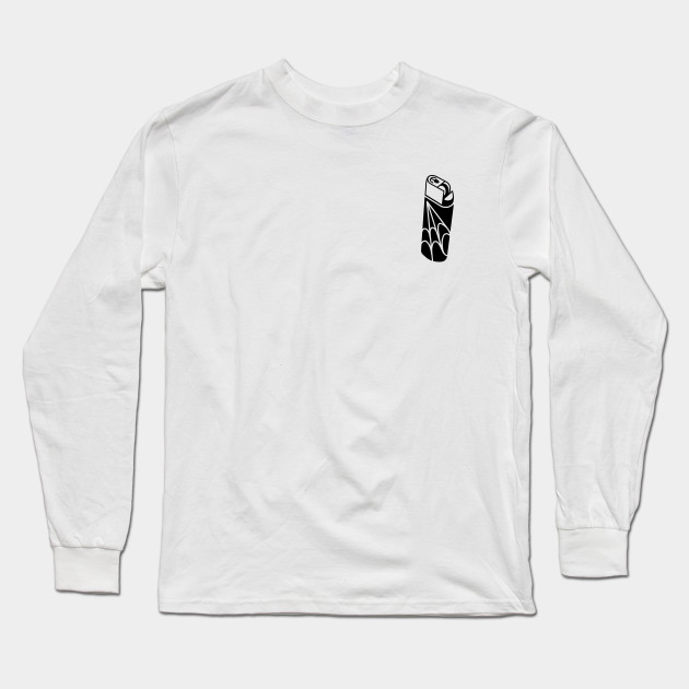 d1889f81 FIRE STARTER - Lighter - Long Sleeve T-Shirt | TeePublic