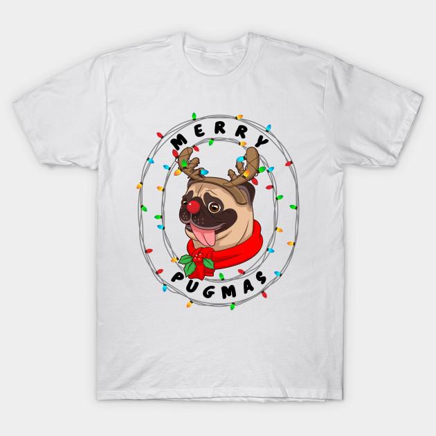 d5acd726 Funny Cute Pug Cool Merry Pugmas Christmas Gift - Christmas Pug Dog ...