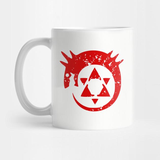 Homunculus Symbol Fullmetal Alchemist Mug Teepublic