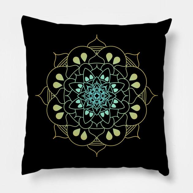 Mindful Lotus Mandala Flower