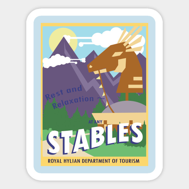 Hyrule Tourism- Stables