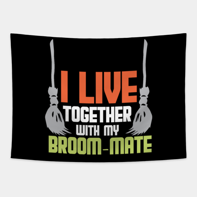 Broom Mate Witch Halloween Girl